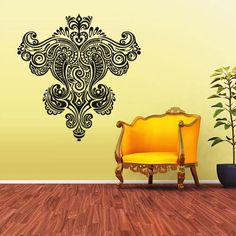 Wall Vinyl Sticker Decals Decor Art Bedroom Design Mural Tatoo Mandala Tribal Pattern (Z2101) StickersForLife http://www.amazon.com/dp/B00GE7ALJ8/ref=cm_sw_r_pi_dp_cBufvb0KSJZ5F