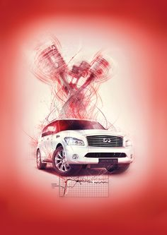 Performance isn't black and white - Infiniti Campaign by Billelis , via Behance