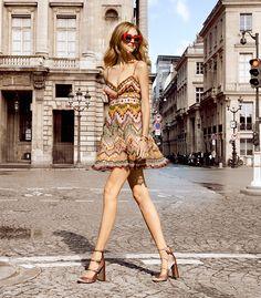 #ChiaraFerragni at #Valentino #pfw #SS2016 #fashion #beauty