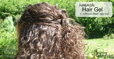 Ever tried to make your own homemade hair products? Coconut oil made my hair a greasy mess; another concoction gave me a flat head. Then I came across something that not only worked, it was affordable. My homemade hair gel (together with my citrus hair spray) provides better, healthier, and more holistic results than anything I used to buy!
