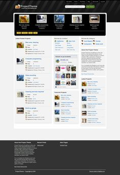 Project Bidding WordPress Theme