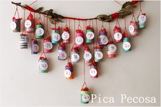 How to make an advent calendar out of toilet rolls? Here are 7 homemade advent calendar ideas for your inspiration. Each toilet roll craft Homemade Advent Calendars, Advent Calendars For Kids, Diy Advent Calendar, Kids Calendar, Christmas Decorations For Kids, Christmas Crafts For Kids, Christmas Stuff, Christmas Ideas, Xmas