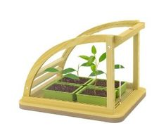 Hape Eco Greenhouse In Bamboo:Amazon:Toys & Games