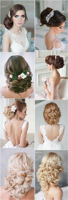 long wavy wedding bridal hairstyle for long hair / http://www.deerpearlflowers.com/wedding-bridal-hairstyles-for-long-hair/