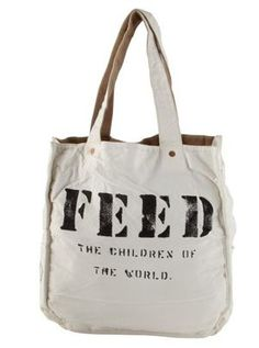 Just one of many products available to help feed the children of the world. - #FeedProject