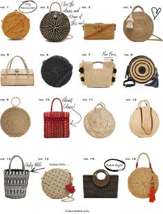 16 bags that will inspire your spring and summer wardrobe http://spotpopfashion.com/jv6t