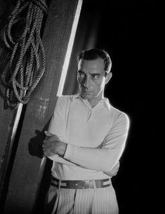 George Hurrell - Buster Keaton (1930s)