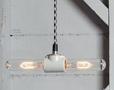 double bulb pendants - Google Search