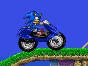 لعبة دراجة سونيك لعبة حلوة من العاب سيارات  Car Games الرائعة جداً علي العاب فلاش ميزو
