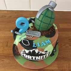Fortnite Cake Designs – Gâteau - Pubg, Fortnite and Hearthstone Army Cake, Camo Cakes, Cake Images, 9th Birthday, Boy Birthday Cakes, Camo Birthday, Birthday Ideas, Happy Birthday, Novelty Cakes