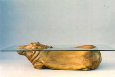 Hippo Table by Derek Pearce - Sable & Ox But £5,500!