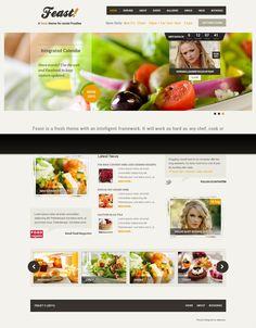 Feast Food WordPress Restaurant Theme