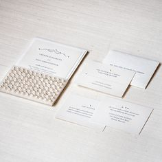 #wedding #invitations Shop the Elizabeth Collection | Engaging Papers