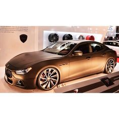 Maserati Ghibli /WALD Black Bison Edition /2015 Tokyo Auto Salon