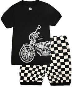 News Boys Pajamas Motorcycle Kids Clothes Short Sets Size 3T   buy now     $13.99 Your little one will sleep comfortable with this pajama set from Shelry. You'll love these cute and comfy PJs from us! Top and... http://showbizlikes.com/boys-pajamas-motorcycle-kids-clothes-short-sets-size-3t/