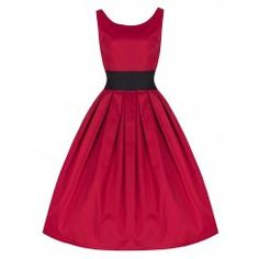'Lana' Red Prom/Party Dress