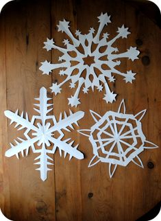 Winter ~ Advent ~ Week One: The Light of Crystal & Stone ~ Creating Paper Snowflakes ~ Folding Tutorial