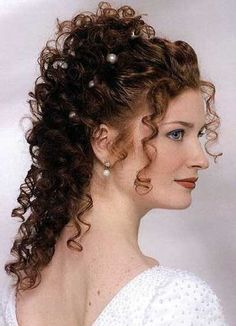 Modern Hairstyles Fascinating Curly Wedding Hairstyles French Fashion Modern Hairstyle  Free