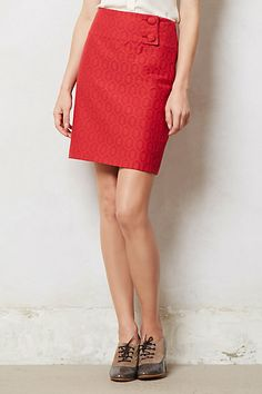 Audra Pencil Skirt by Maeve, Anthropologie