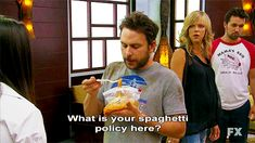 what is your spaghetti policy?