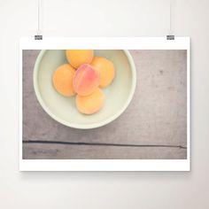 apricot photograph kitchen wall art kitchen food by oohprettyshiny