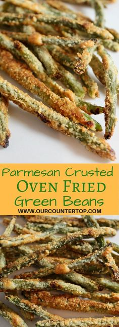 Parmesan Crusted Green Beans This low carb snack is delicious, kid friendly, and crispy!This low carb snack is delicious, kid friendly, and crispy! Keto Side Dishes, Vegetable Side Dishes, Side Dish Recipes, Vegetable Recipes, Low Carb Recipes, Vegetarian Recipes, Cooking Recipes, Healthy Recipes, Low Carb Vegitarian Recipes
