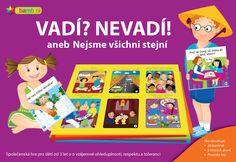 Vadí? Nevadí! aneb Nejsme všichni stejní Games For Kids, Diversity, Nevada, Board Games, Family Guy, Learning, Children, Fictional Characters, Respect
