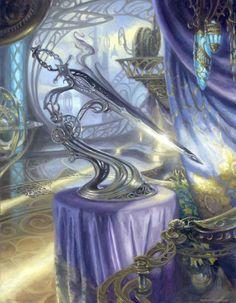 Sword of Light and Shadow (Kaladesh Inventions) - Kaladesh MtG Art