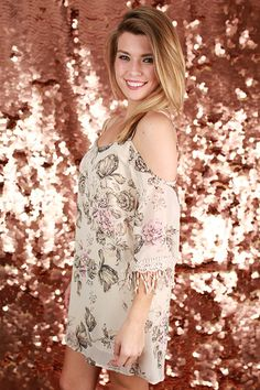 Floral Rendezvous Dress