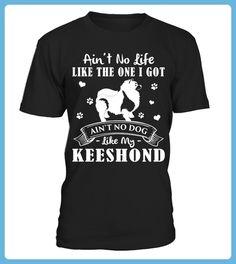 My Life My Keeshond Christmas Funny Gifts Tshirts (*Partner Link)