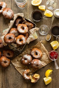 Anise fried dougnuts (Rosquillas de anís) / Rico sin Azucar