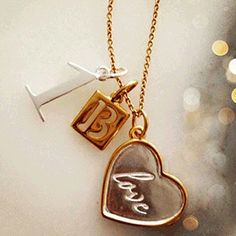Personalise your own charmed life necklace and tell your story ...... www.littleandpinkboutique.co.uk