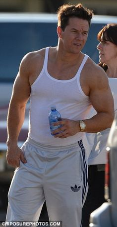 Mark Wahlberg's muscles?! FACK.