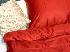Holey Quilt® obliečka Zipper™ Bav. Deluxe Červená 140x200
