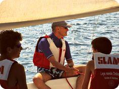 Roberto alle manovre. #ventotene #barca #vela #corsi #ragazzi