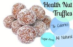 """One of my favorite """"sweets"""" when I'm craving chocolate or sugar but don't want to eat junk food. All natural, 6 ingredients, easy to make--and DELICIOUS! 
