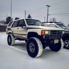 Just enough for a little fun #denver #colorado #Toyota #t4r #1stgen4runner #19874runner #4runner #fj62 #yota