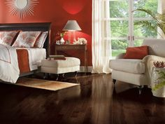 Frontier Shadow Hickory Hardwood Floors by Armstrong
