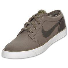 Nike Coast Classic Canvas Men's Casual Shoe  Olive Kakhi/Sable Green