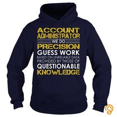 Account Administrator   Job Title Tee T-shirt T shirts