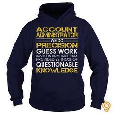 Account Administrator   Job Title Tee T-shirt T shirts