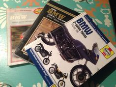 Bmw Airhead Repair Workshop Manuals (3) Clymer, Haynes R90 R100 R75