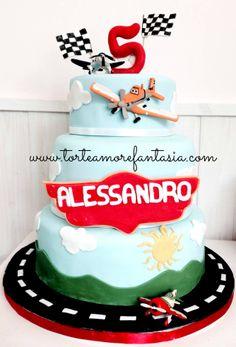 #Disney #Planes #Party #Personalizzati #Baby #Cake #Castelli #Romani www.torteamorefantasia.com