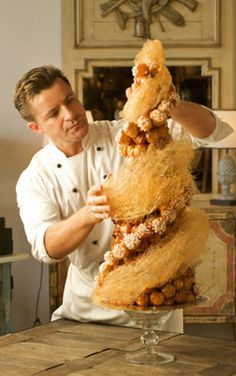 Pastry chef Vincent Gadan...... I will make this some day!