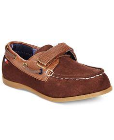 Tommy Hilfiger Boys' or Little Boys' Douglas Colorblock Boat Shoes