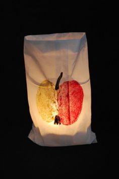 apple lamp rnrnSource by kirstin_niepage Games For Kids, Diy For Kids, Crafts For Kids, Fox Cookies, Autumn Crafts, Pumpkin Spice Cupcakes, Bear Cakes, Woodland Party, Fall Desserts