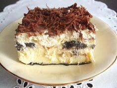 W krainie smaków: Sylwestrowy sernik z ciasteczkami Oreo Oreos, Tiramisu, Smoothie, Ethnic Recipes, Impreza, Food, Decor, Treats, Pies
