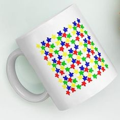 - What are we going to do with all these muggers?  - Oh well, put them on a mug. Morning Coffee, All The Colors, Board Games, Sprinkles, Drinking, Ceramics, Tea, Mugs, Ceramica
