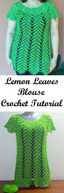 Beautiful Blouse Crochet Tutorial