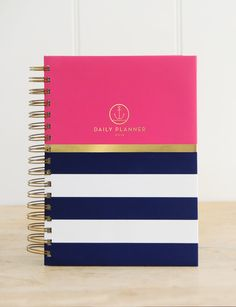 The 2016 Anchored Press Planner - finally a Daily Devotional Planner that will keep you organized and anchored in God's Word.